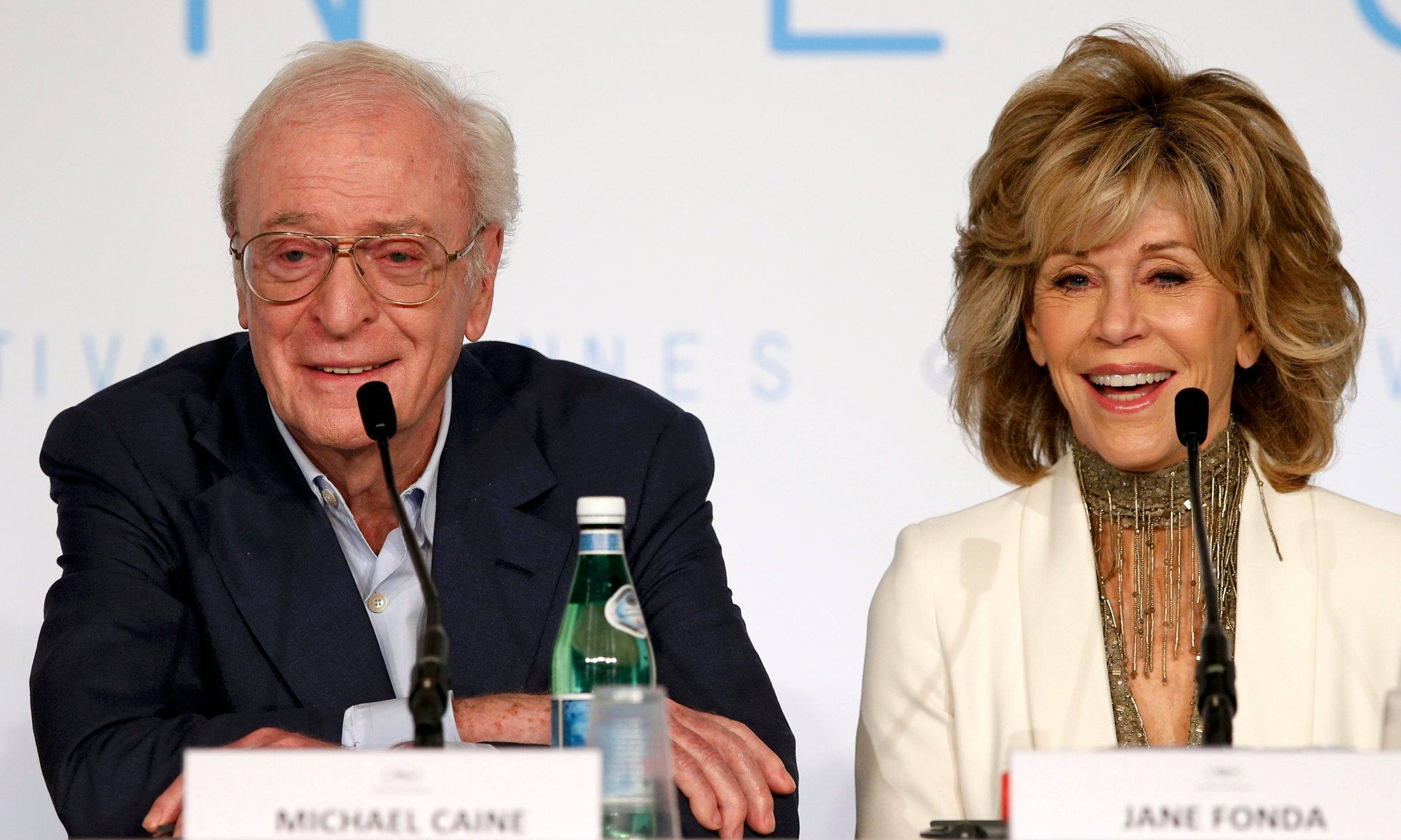 Michael Caine in Cannes: 'Playing the elderly is better than playing the dead'