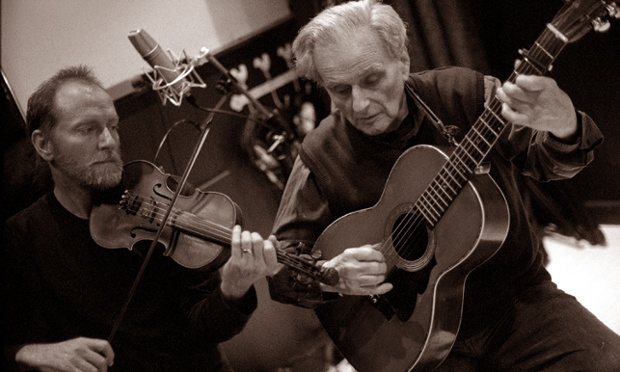 Tom and Ben Paley: Paley & Son review – 87-year-old folk pioneer on fine form   Music   The Guardian