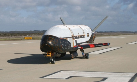 Mysterious space plane blasts off for secretive US air force mission