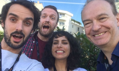 Cannes uncovered: day 9 - the 3D sex film, the star-studded podcast, the JLaw surprise!