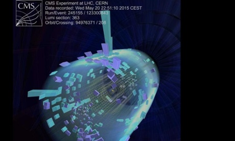 First images of collisions at 13 TeV in CERN's Large Hadron Collider