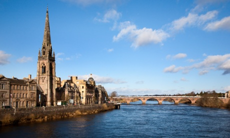 Let's go to … Perth, Scotland