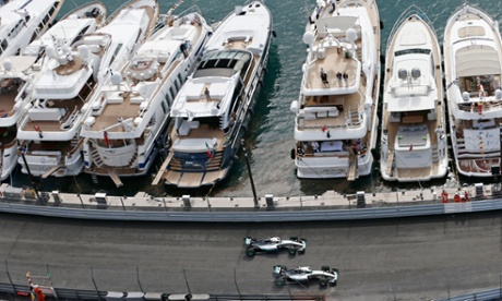 Sport picture of the day: A stylish spin in Monte Carlo
