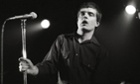 Ian Curtis performing in Rotterdam.