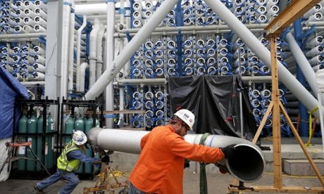 Desalination: the quest to quench the world's thirst for water