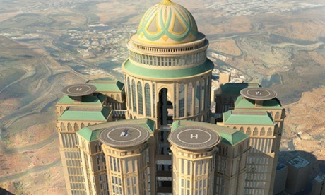 City in the sky: world's biggest hotel to open in Mecca
