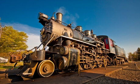 Essex Steam Train & Riverboat Rail Road Locomotive.
