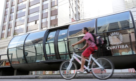How Curitiba's BRT stations sparked a transport revolution – a history of cities in 50 buildings, day 43