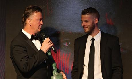 Louis van Gaal confident David de Gea will stay at Manchester United