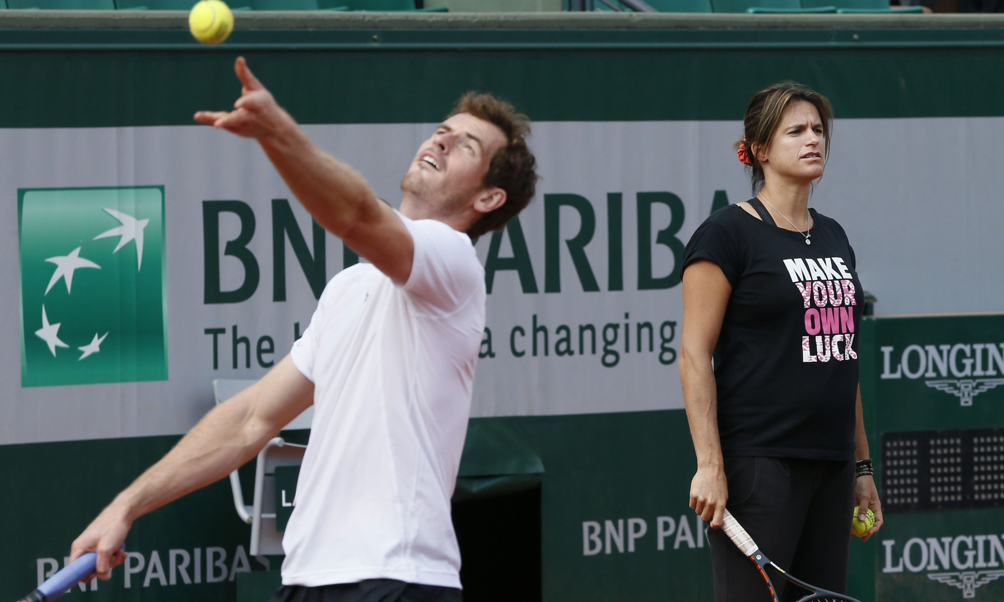 Andy Murray to put faith in instinct and Amélie Mauresmo at French Open