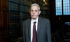 John Forbes Nash at the Oxford Union last year.