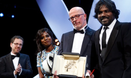Jacques Audiard hopes Dheepan's Cannes win will help Europe's migrants