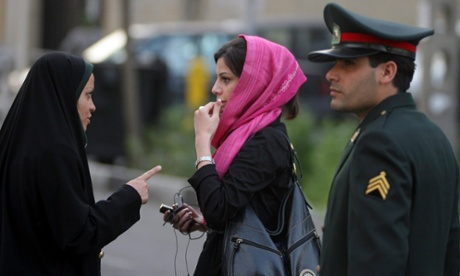 Rouhani clashes with Iranian clergy over women arrested for 'bad hijab'
