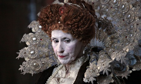 Why is Elizabeth I, the most powerful woman in our history, always depicted as a grotesque?