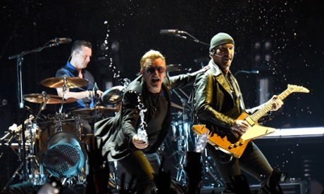 U2 feared tour would end after one show when The Edge fell off stage