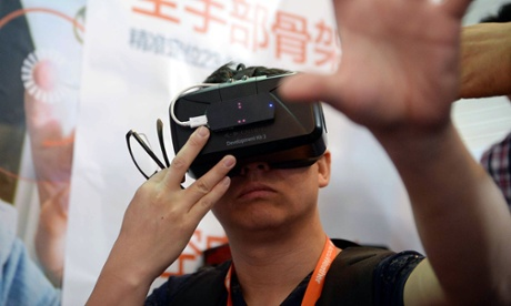 The return of virtual reality: 'this is as big an opportunity as the internet'