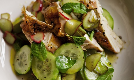 Nigel Slater's summer salad with meat recipes