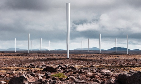Can bladeless wind turbines mute opposition?