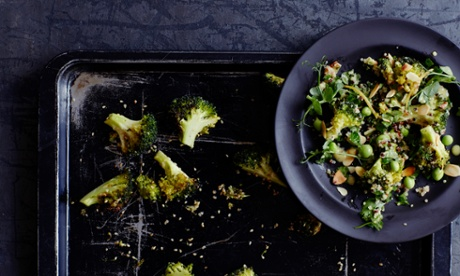 Four different meals from one batch of broccoli
