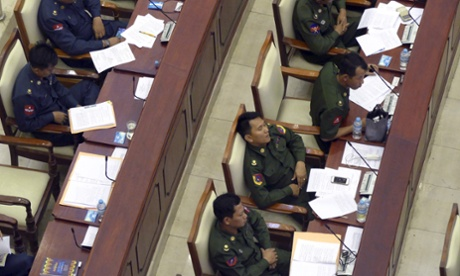 Burmese reporters expelled from parliament for recording MPs sleeping