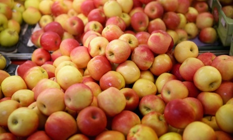 Washington apple growers dump $100m worth of fruit in fields