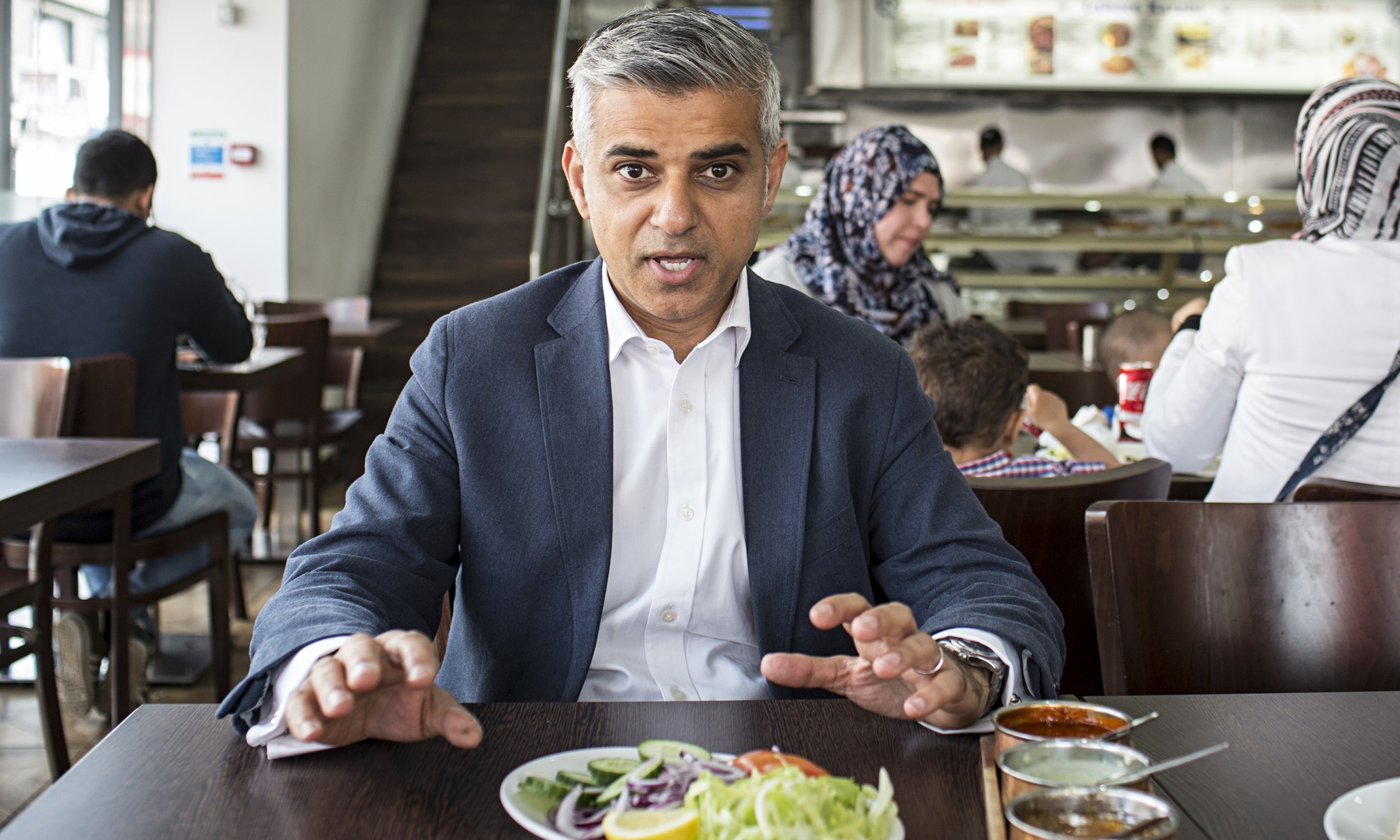 Sadiq Khan: 'Ruthless? No. Decency can get you to the top in politics'