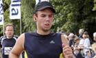 Andreas Lubitz shown running the 2009 Airportrace half marathon in Hamburg