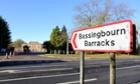 Bassingbourn barracks in Cambridgeshire.