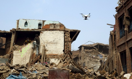 Nepal moves to limit drone flights following earthquake