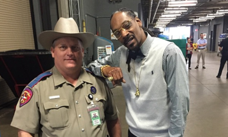 Snoop Dogg is a 'dope-smoking cop hater', says Texas law chief