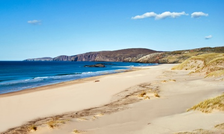 In search of Scotland's best beach