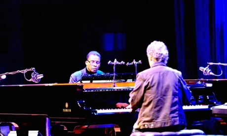 Herbie Hancock and Chick Corea review – meandering bravura in Melbourne