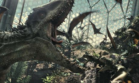 Jurassic World review – nice dinosaurs, shame about the plot