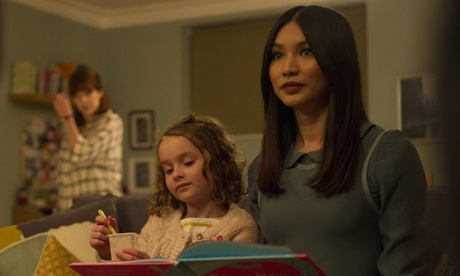 Sophie Hawkins (Pixie Davies) and Anita (Gemma Chan) in Humans