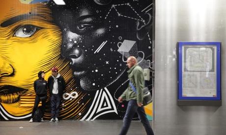 Paris street art: Gare du Nord goes graffiti with Quai 36 project