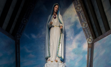 An Irish shrine to the Virgin Mary