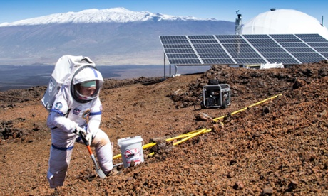 Scientists leave isolation dome after eight months simulating life on Mars