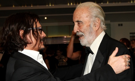 Johnny Depp pays tribute to 'noble and wise' Christopher Lee