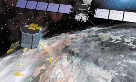 Rosetta space orbiter to be moved closer to Philae lander comet