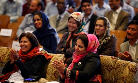 Afghan men urged to support HeForShe campaign at Kabul launch