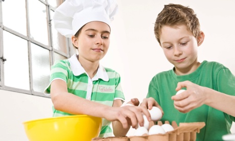 Teaching my daughter to cook does not make me a bad feminist