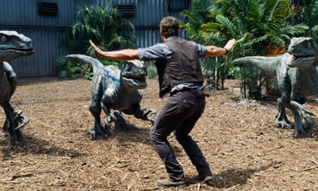 Zookeepers are recreating the Jurassic World raptor scene with real animals