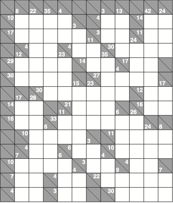 image about Kakuro Printable titled Kakuro 1,454 complicated Lifestyle and design The Dad or mum