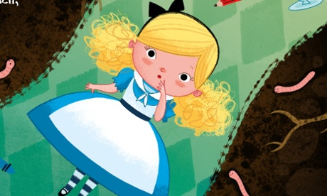 How to draw… Alice in Wonderland