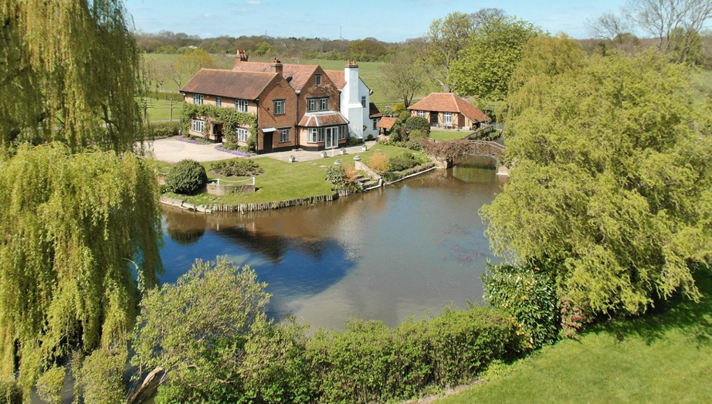 Homes With Moats In Pictures Money The Guardian