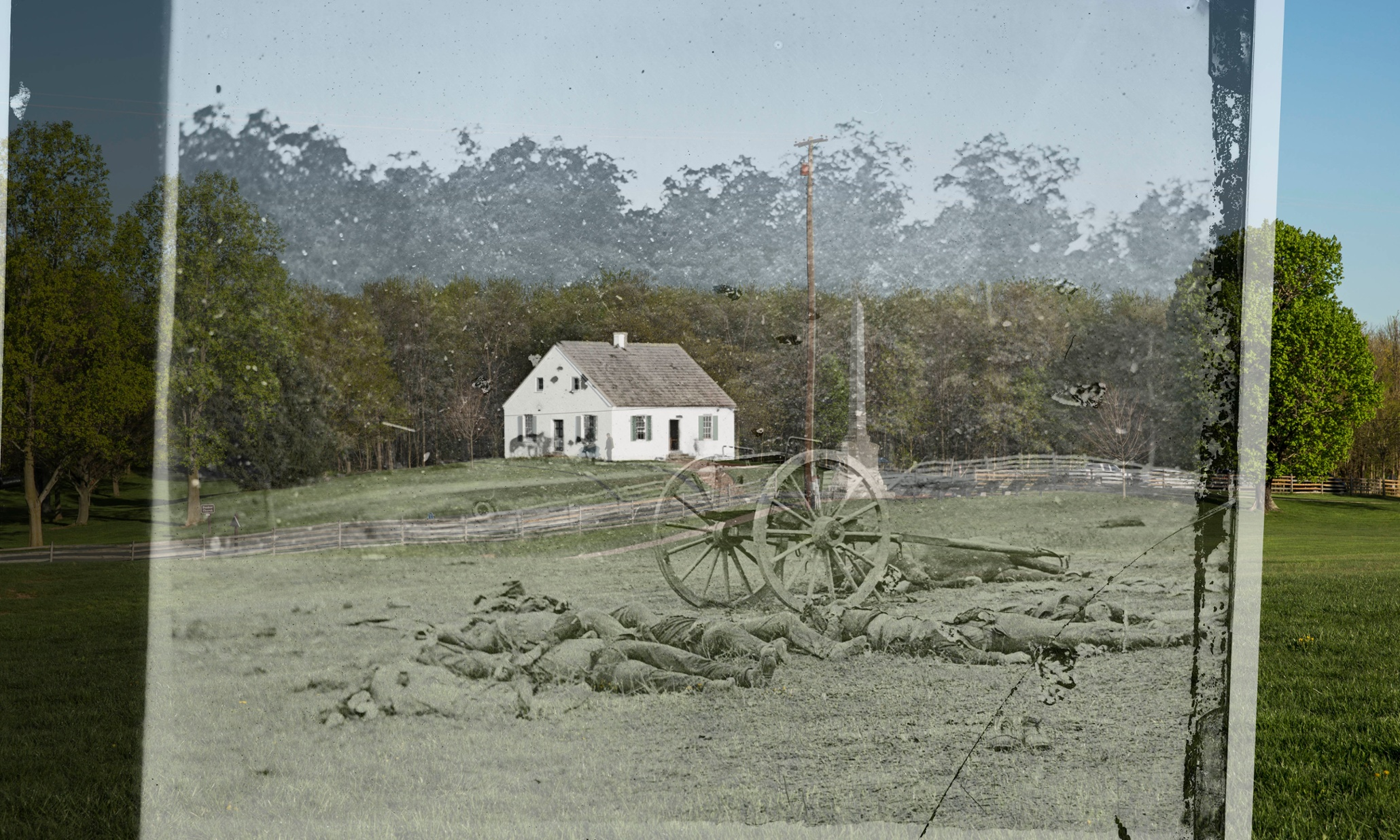 The American civil war then and now – interactive