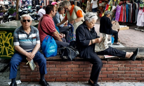 Crisis is the new normal for weary Greeks