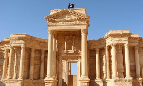 Isis destroys Palmyra shrines in Syria