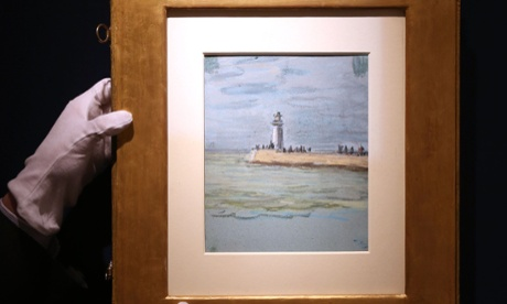 British art dealer discovers unknown Monet pastel taped to another work