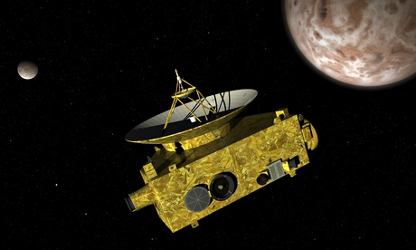 Pluto: Nasa probe set for fly-past of frozen 'dwarf planet'